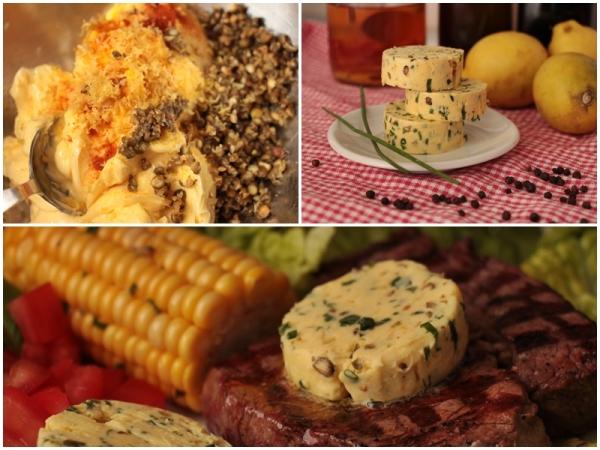 Passt zu Fleisch und Gemüse: Pfeffrige Zitronenbutter