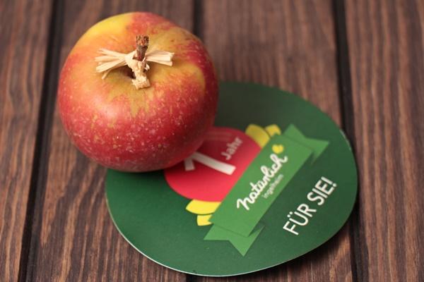Natürlich Bioladen, Apfel