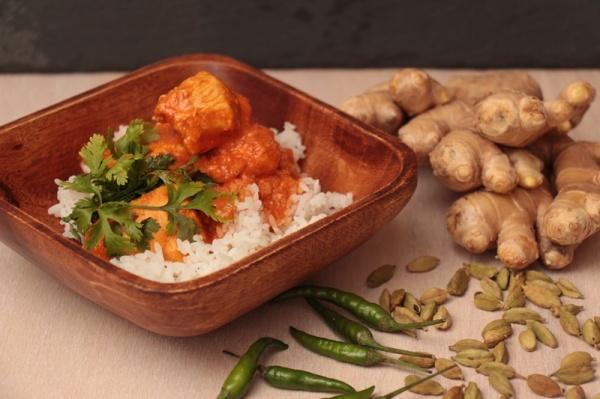 Hähnchen, Curry, Tomaten, murgh makhani