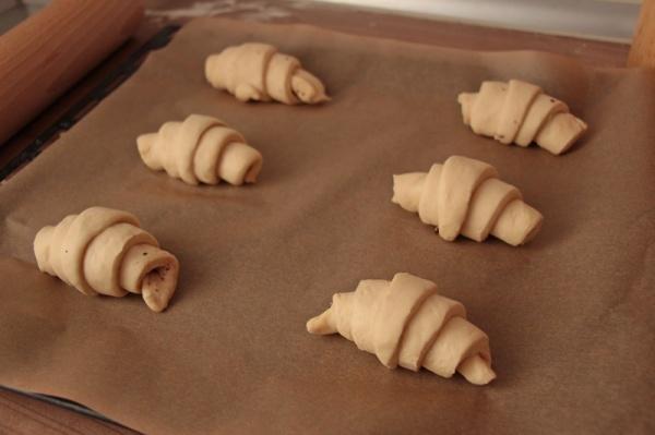 Croissants-roh