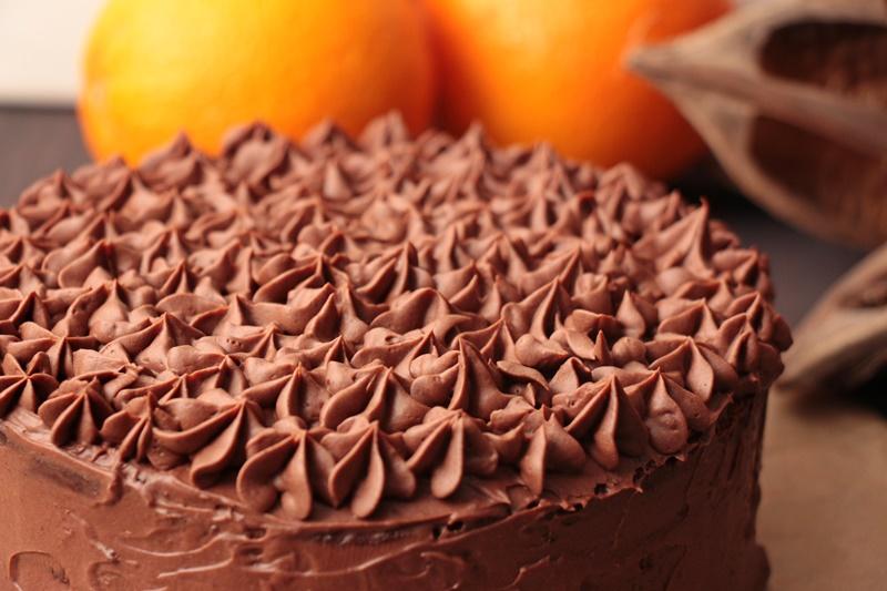 Schoko Orangen Torte 1 Heiss Und Innig