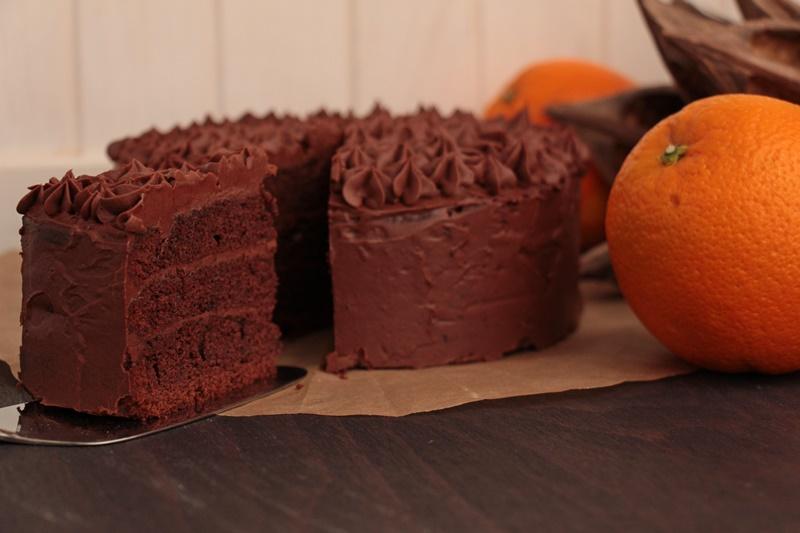 Schoko Orangen Torte 2 Heiss Und Innig