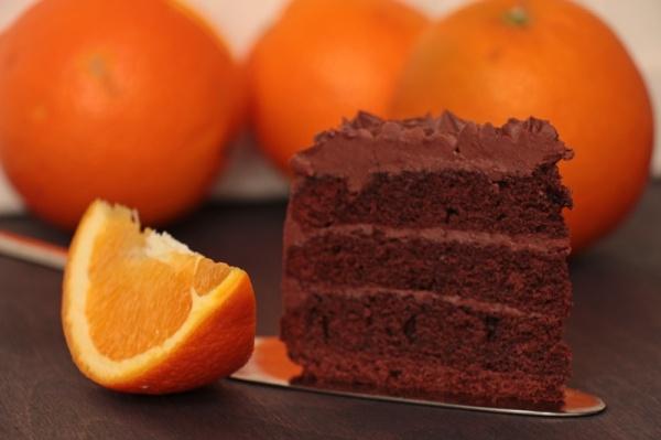 Schoko-Orangen-Torte