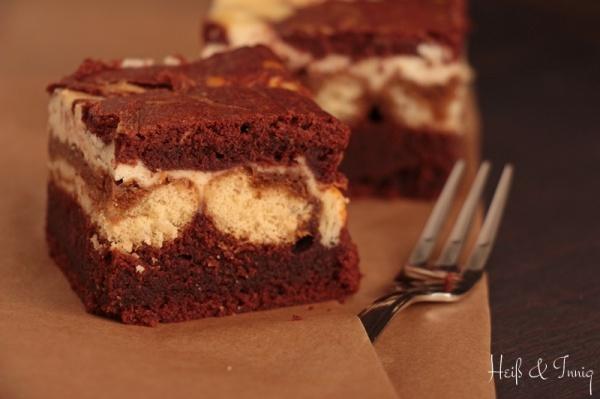 Brownie-Tiramisu