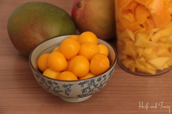 Mangos-Vorbereitungen-Sign