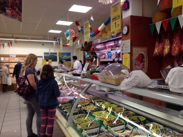 Im italienischen Supermarkt