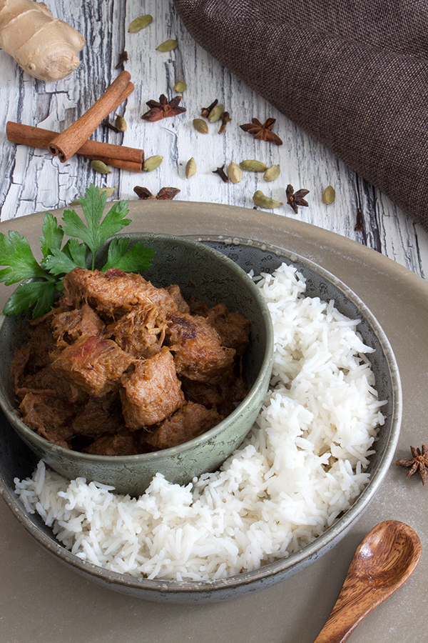 Beef Rendang - indonesisches Rindercurry